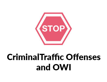 criminal traffic offenses and OWI