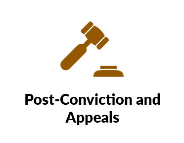 Post Conviction and appeals